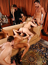 Crazy orgy with Breanne Benson, Jeanie Marie Sullivan and Julia An