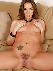 Sweet milf Tori Black elegantly takes off her lingerie and amazes with her slender body