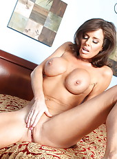 Slutty and horny brunette lady Veronica Avluv gets a cock in the tight pussy