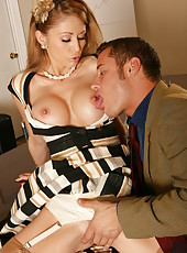 Excellent milf Monique Alexander fucked and licked in her favorite poses