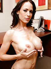 Incredible mature office lady McKenzie Lee wants to taste his cum today