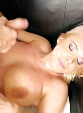 Mesmerizingly hot blonde milf Barbara gets her pussy barbarized sweet