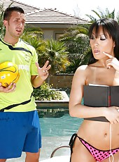 Hardcore outdoor fuck with an incredible Asian whore Asa Akira