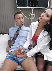 Doc Ava Addams uses patient