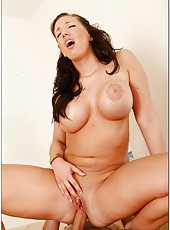 Anal penetration for hot milf Kelly Divine with massive ass and big tits