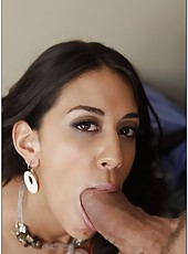 Lovely whore Lyla Storm gets a big fat cock in her tight wet pussy