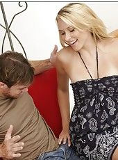 Unmatched blonde Katie Summers having some good time with her lovely boyfriend