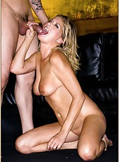 Pretty harlot Bridgett Lee getting drilled like all naughty whores