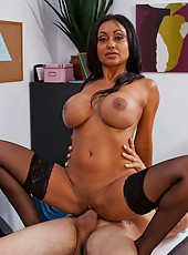 Great interracial fuck with an elegant and sexy babe Priya Anjali Rai
