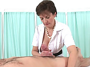 Booted nurse blowjob