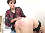 English ass spanked
