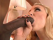Natalie Norton Stabbed Deep In Her Pink With Huge Black Cock