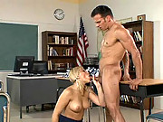 Alexis Texas In The Class Roon Sucking Off Her Teacher