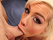 Check out how much dick this slut can swallow