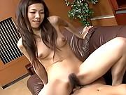 Kaoru Hayami naughty Asian office girl is great when it comes to fucking