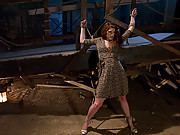 Sabrina gets an intense bondage and sex scene!