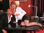 Tara White enjoys a good office fuck