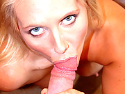 Big tiitty blonde MILF sucks hard cock for free hotel room.