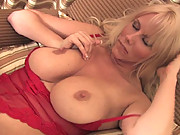 Big tit blonde Sexy Karen gets fingered by her hot friend
