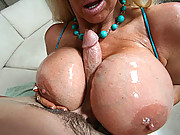 Big hot tits squeeze the fuck out of hard cock