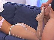 Slim sexy blonde Jessika T.