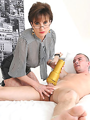 Fleshlight handjob