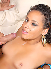 Check out jammin booty lani ride a hard big cock in her tiny cuban pussy in these hot pics