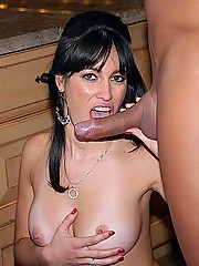 Super hot caren gets her juicy box pounded hard and latina face creamed after geting picked up at a cafe
