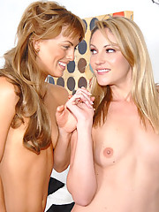 Samatha and mia head to the spa for some hot steamy pussy licking and materbation in these hot lesbo pics