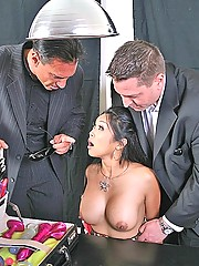 Mika Tan sacrifices her asshole to keep Brazzers Operations a secret
