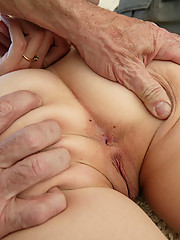Nasty little slut gets ravaged and bonded hardcore!!!