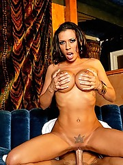 Rachel Starr is back from retirement to enjoy some more big cocks