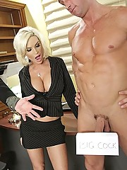 Diamond Foxxx inherits big cock from dead aunt