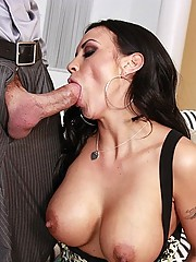 Mariah Milano loves the cock incentive package with her check
