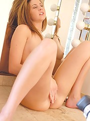 Lisa gets naked and naughty