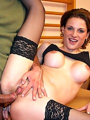Slut is selling some stuff before fucked hard