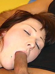 Passed out girl gets fucked and receives cum