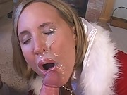 4 Vids- Naughty Blonde Wife Sucks a Big Cock