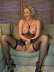 Huge Tits in Stockings