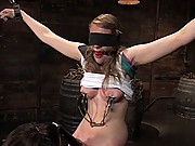 Two weeks after turning 18 Ivy fulfills her lifelong fantasy of being tied up and dominated by a  woman!