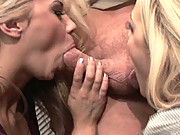 Ashlynn Brooke And Alexis Texas Eating Muff And Fucking Cock