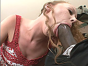 Leighlani Red Squeals With Pleasure As Black Cock Fills Her Hot Twat