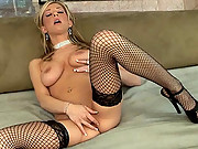 Sammie Rhodes in some incredibly sexy stockings