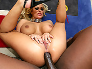 Shyla Stylez bends over and gets drilled in arse