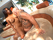 Katsuni gets nailed by a big cock in this great scene with Derrick Pierce
