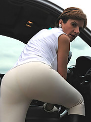 Busty mature mistress in jodhpurs