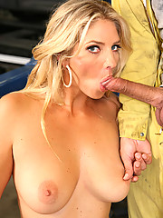 Jordan Kingsley Gets Full Cock Service And Man Oil On Tits