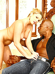 Flower Tucci Slams Her Juicy Slot On Big Black Cock
