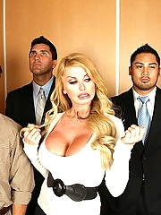 Taylor Wayne in the elevator of fucking love