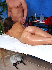 Juicy Booty 18 year old fucked hard by her massage therapist